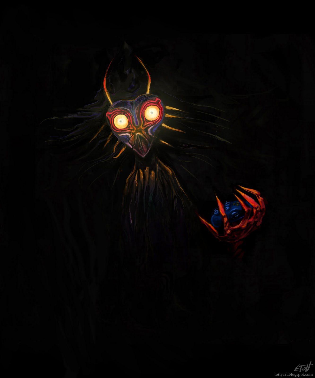 Majora | Legend of Zelda- Majora\'s Mask | Pinterest | Ilustraciones