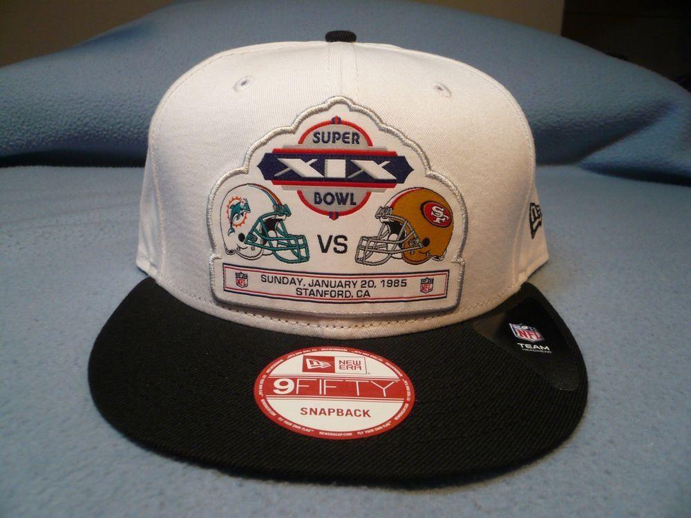 db9a9eff New Era 9Fifty Super Bowl XIX 19 Team Rival Snapback BRAND NEW hat ...