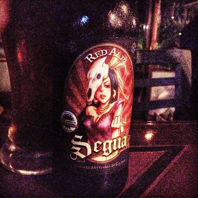 I had no clue that Costa Rica has a craft beer. That label is awesome-sauce. #puravida
