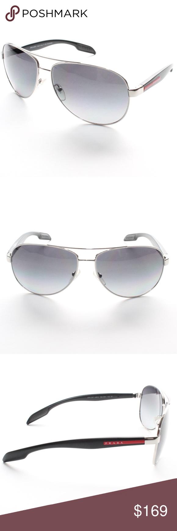 dfecc48fb021 ... reduced prada sport mens sunglasses ps53ps polarized brand new 100 authentic  prada sport mens sunglasses ps53ps