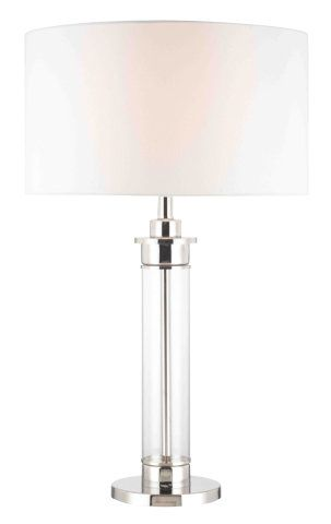 Clear cylinder glass table lamp shaded table lamps ceiling lights toronto