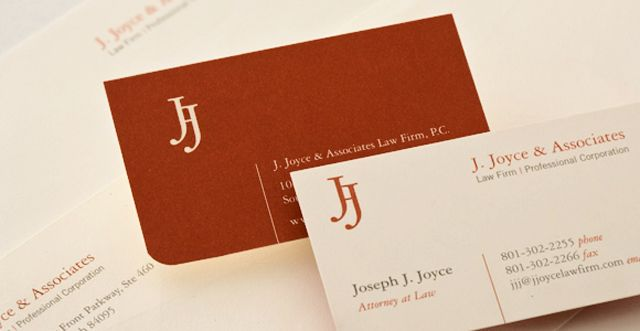 professional lawyer business cards cfm project
