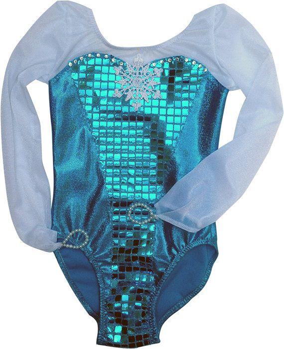 Frozen Leotard Queen Elsa of Arendelle. New by DanceMomsDanceWear