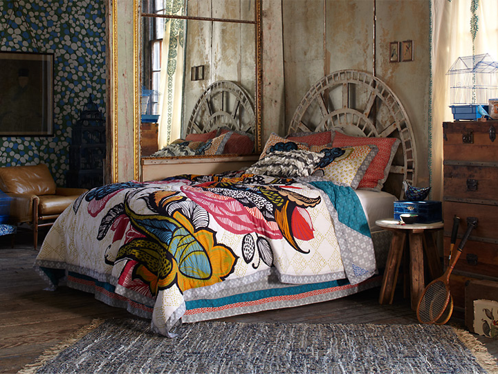 Trend Watch: Oversized Pattern Prints | Anthropologie, Bedrooms ...