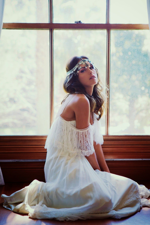 Darling cashmere ethereal wedding dresses boho wedding