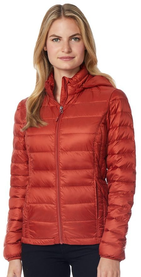 0eff6031ac1 This Women s Heat Keep Down Hooded Puffer Jacket comes in 14 colors   is on  sale