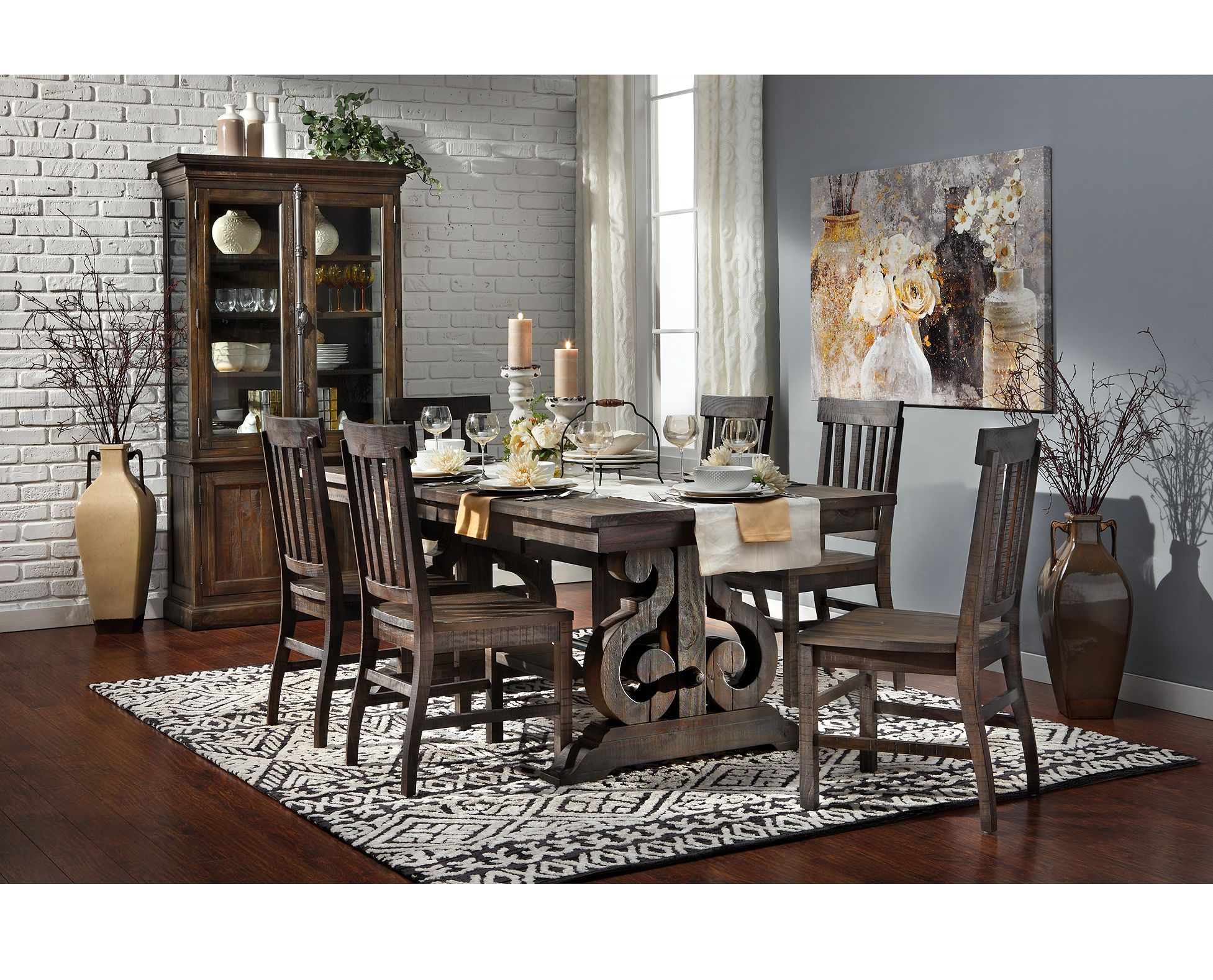 Sedona Dining Table  Rowe furniture, Dining room bench, Furniture
