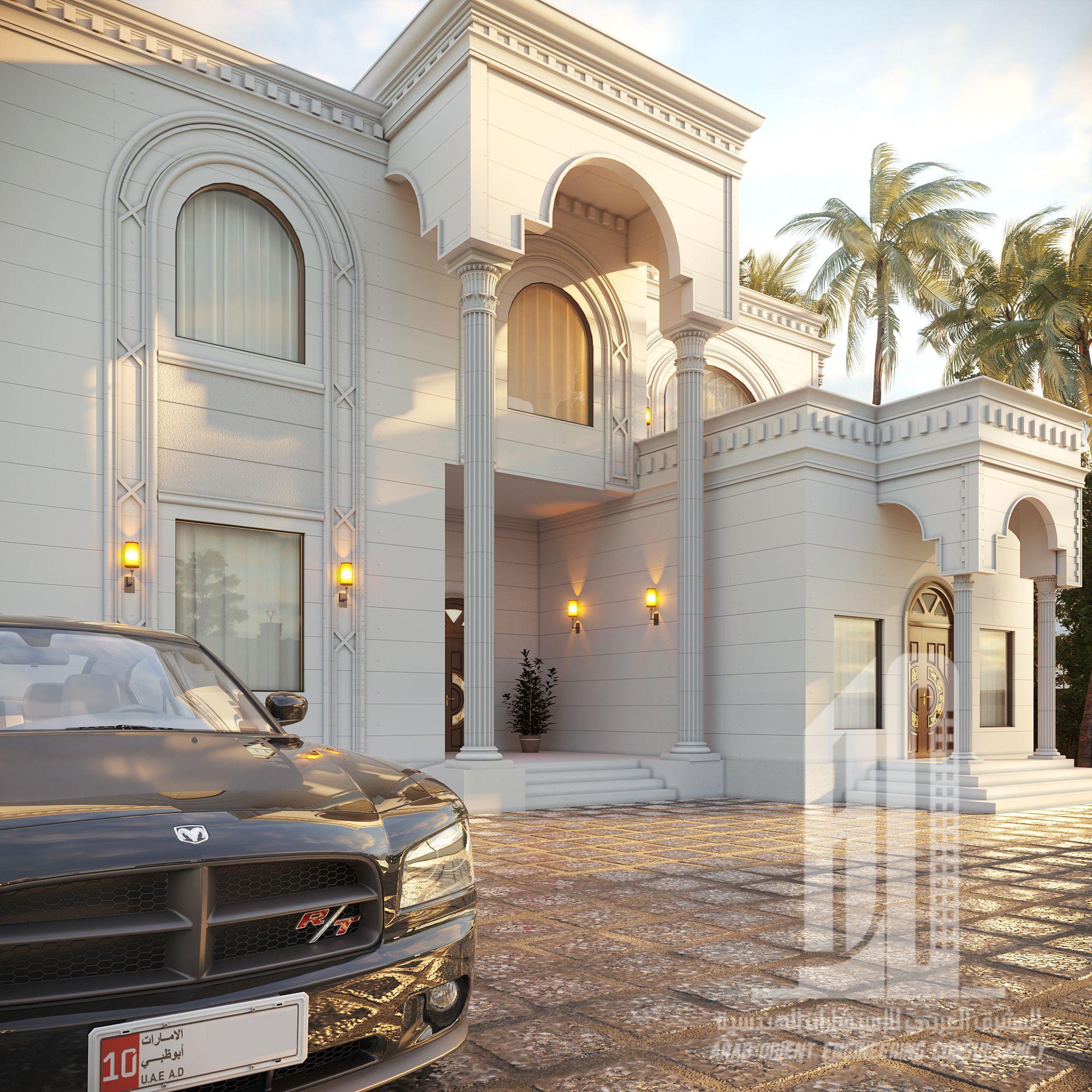 villa classic uae in 2020 | Villa, House styles, Classic
