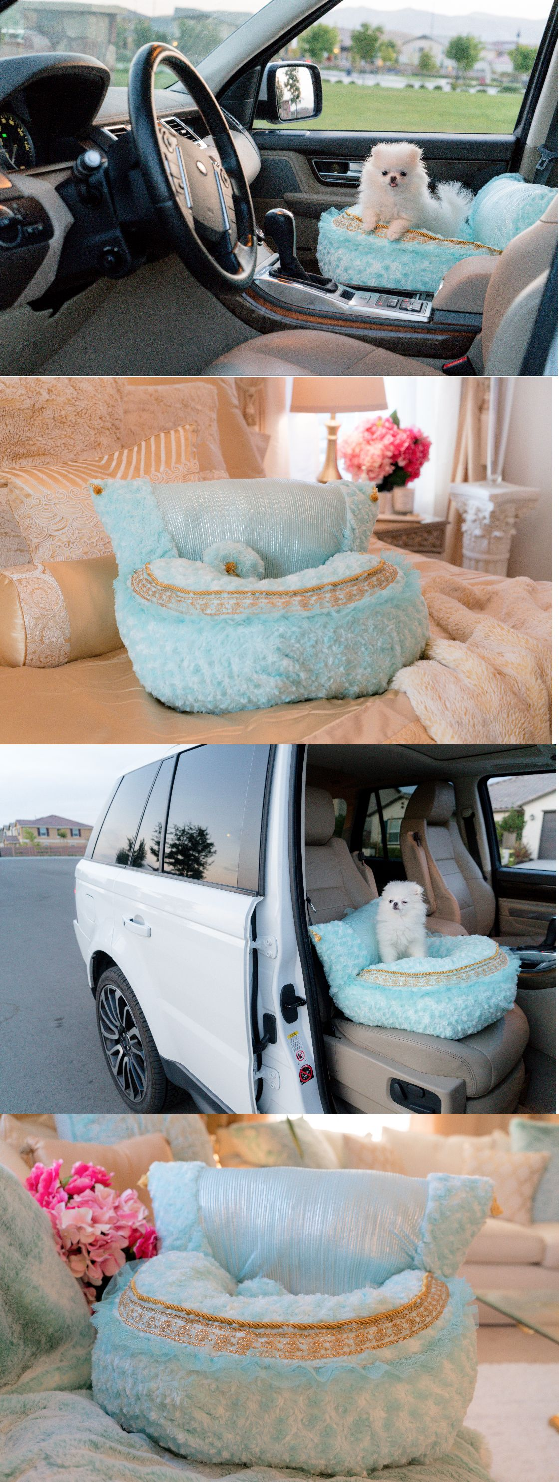 Car seats and barriers new luxury pet car seat dog puppy