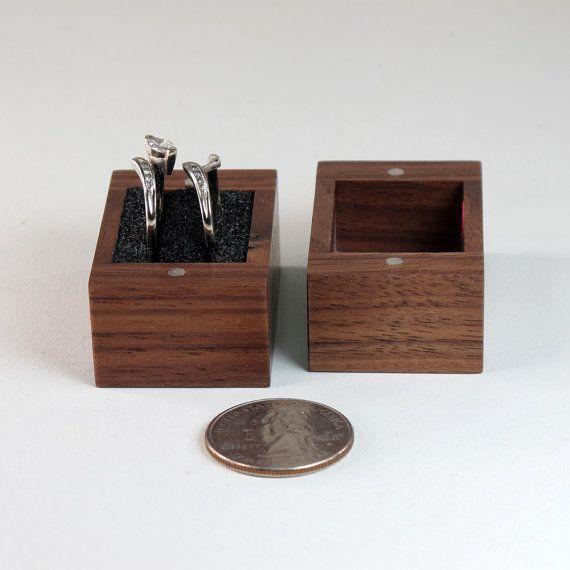 Engagement Ring Box Sale: Ring Bearer Box Engagement Ring Box Wedding Ring By