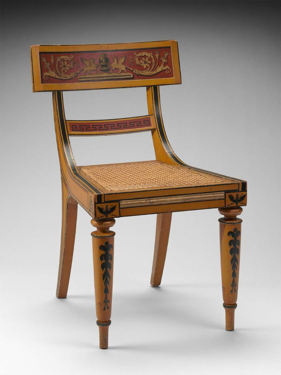 Side chair about 1815 Baltimore, Maryland, United States - Side Chair About 1815 Baltimore, Maryland, United States 1800s