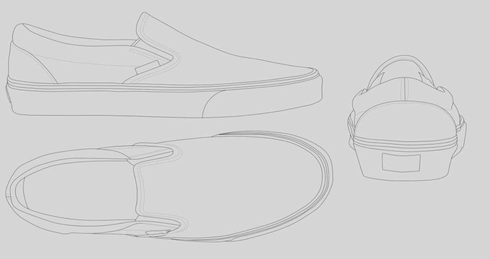 Template Awesome Blank Shoe Template Printable Coloring Page From Freshcoloring Gifts 2018 Blank Vans Shoe Design Sketches Shoe Template Shoe Artwork