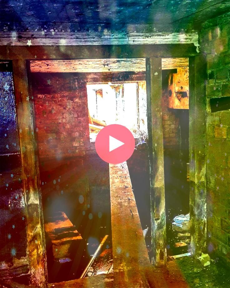 of the many obstacles an urban explorer must face A perilous crawl across a  abandoned One of the many obstacles an urban explorer must face A perilous crawl across a  ab...