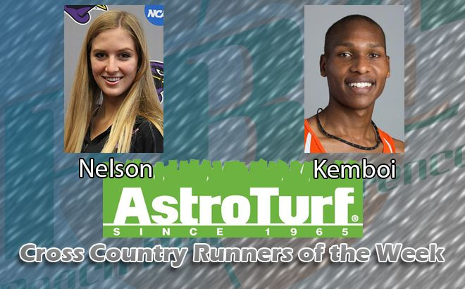 UM's Nelson, Clayton State's Kemboi Named Cross Country AstroTurf Runners of the Week