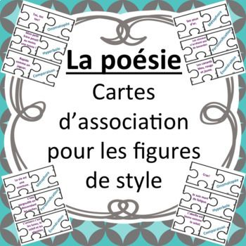 Figures de style - Casse-Tête   French immersion, Teaching ...