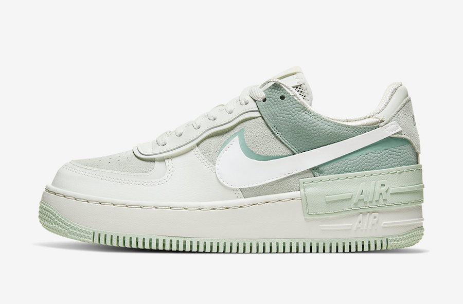 Nike Air Force 1 Shadow Pistachio Frost Cw2655 001 Release Date Sbd Nike Air Shoes Nike Shoes Air Force Nike Air Air force 1 burberry custom😍💦(satisfying). nike air force 1 shadow pistachio frost