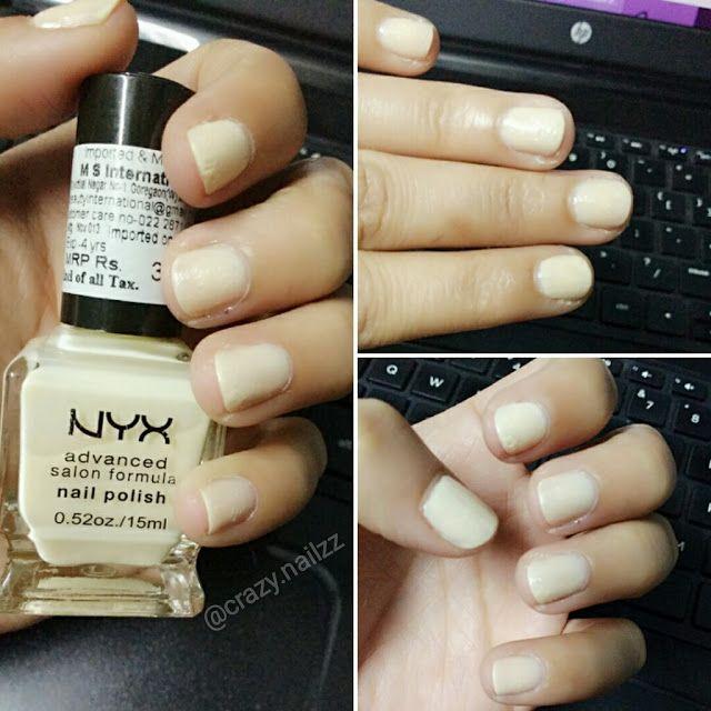 Nyx Advanced Salon Formula Nail Polish Review Swatches