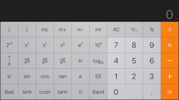 iPhone Has a Hidden Scientific Calculator (With images