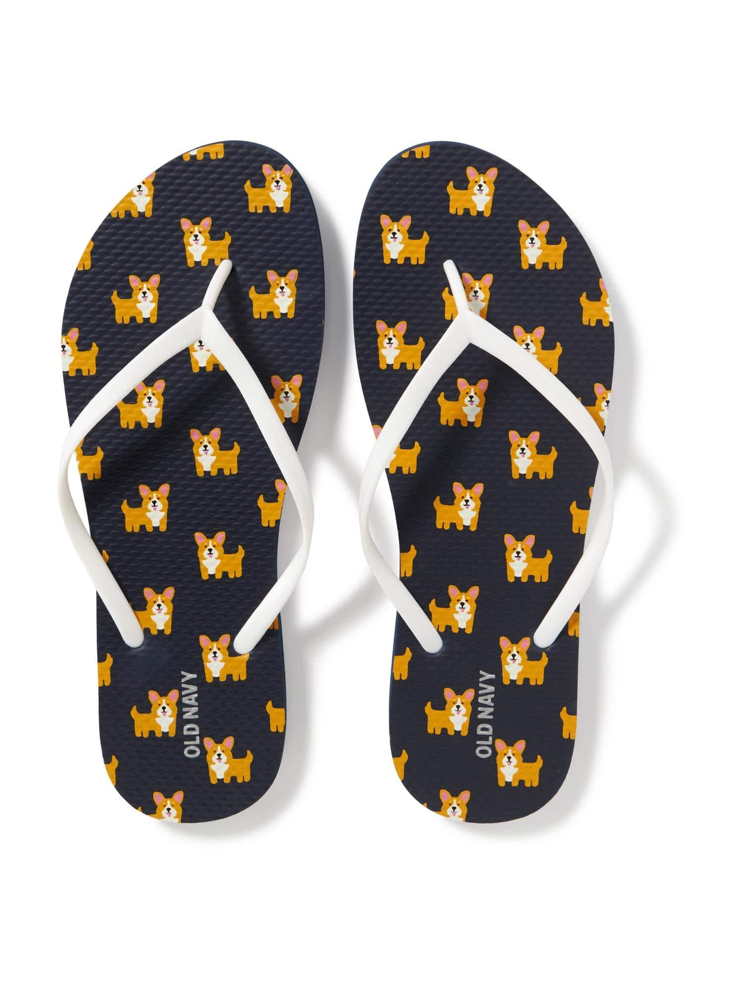 Icon Printed Flip Flops for Women Old Navy Style