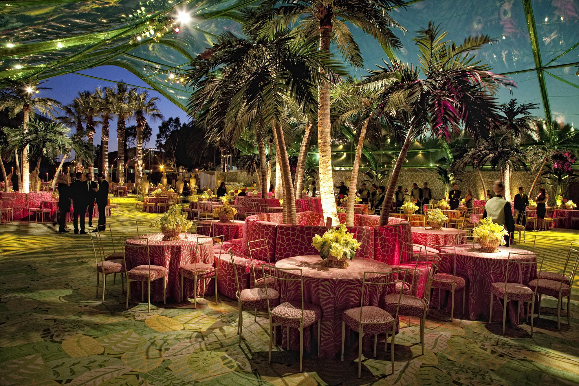 Image result for corporate tropical party decor   Tropical ...