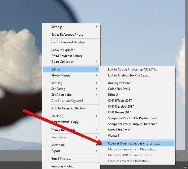 Lightroom shortcut add to target collection