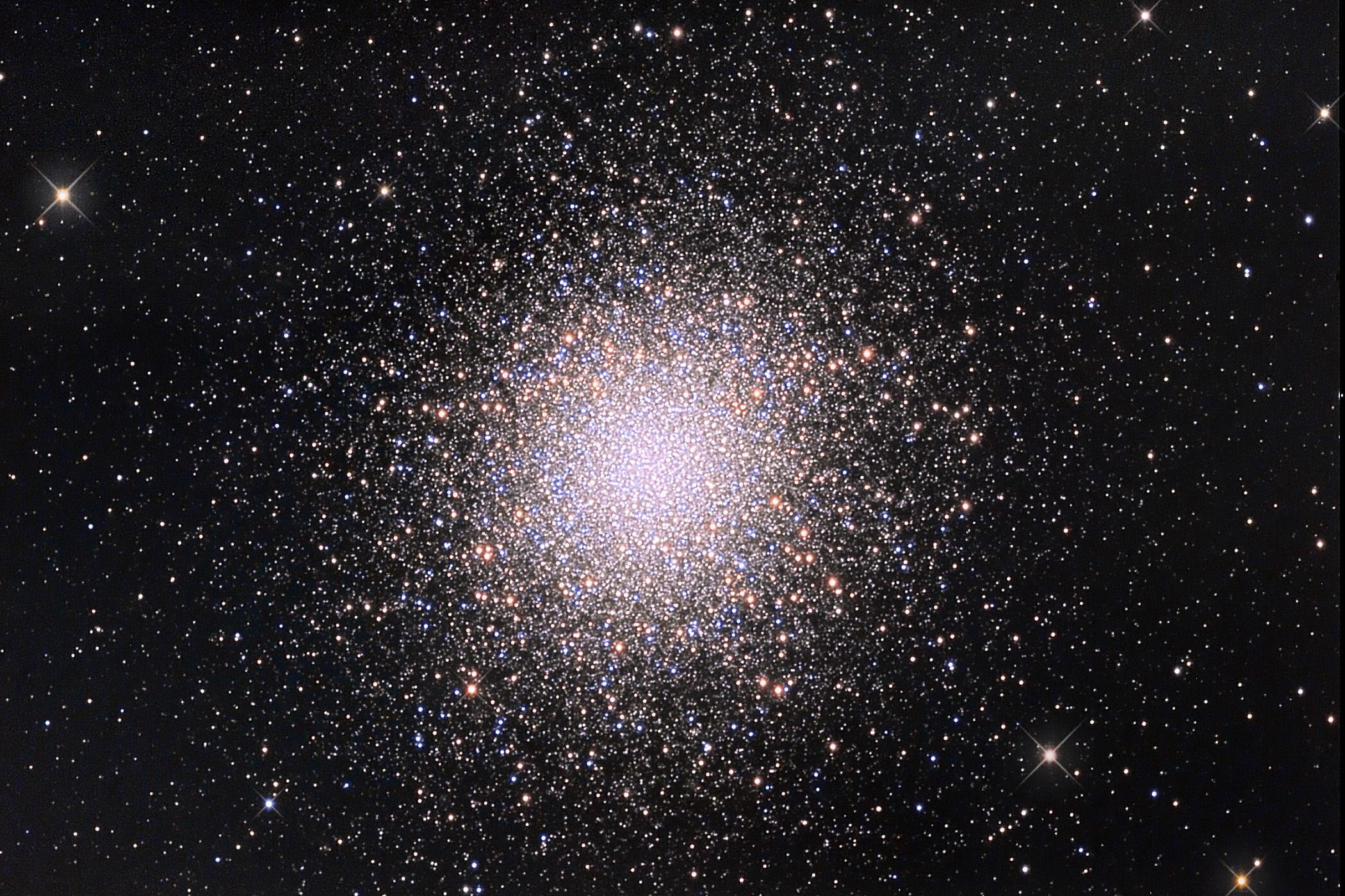 M13: The Great Globular Cluster in Hercules   Image Credit & Copyright: Marco Burali, Tiziano Capecchi, Marco Mancini (Osservatorio MTM)
