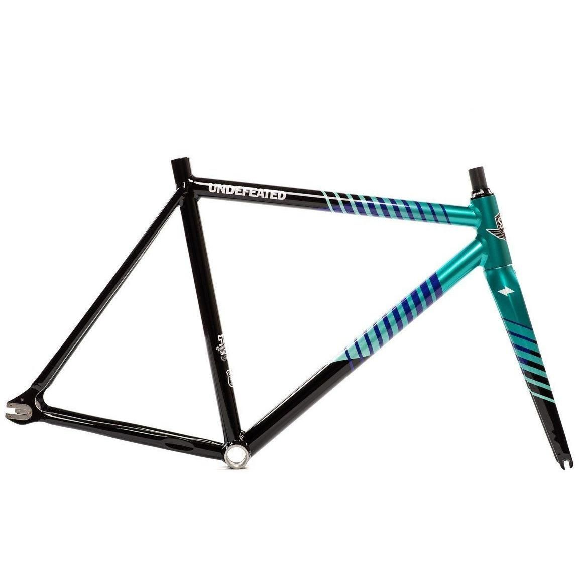 State Bicycle Co. Undefeated II - Fixed Gear Track Frame Set ...