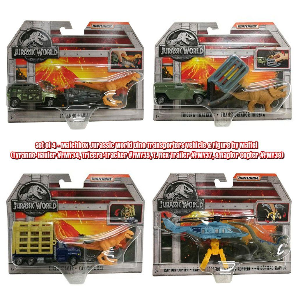 Jurassic World Mini Action Dino figures New Blind Bags Lot de 12 1 cas Mattel