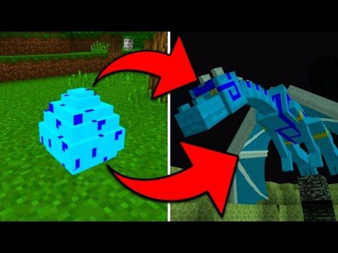 How To Hatch the Blue Dragon Egg in Minecraft Pocket Edition (Elemental  Mobs Addon) - YouTube | Minecraft pocket edition, Minecraft, Dragon egg