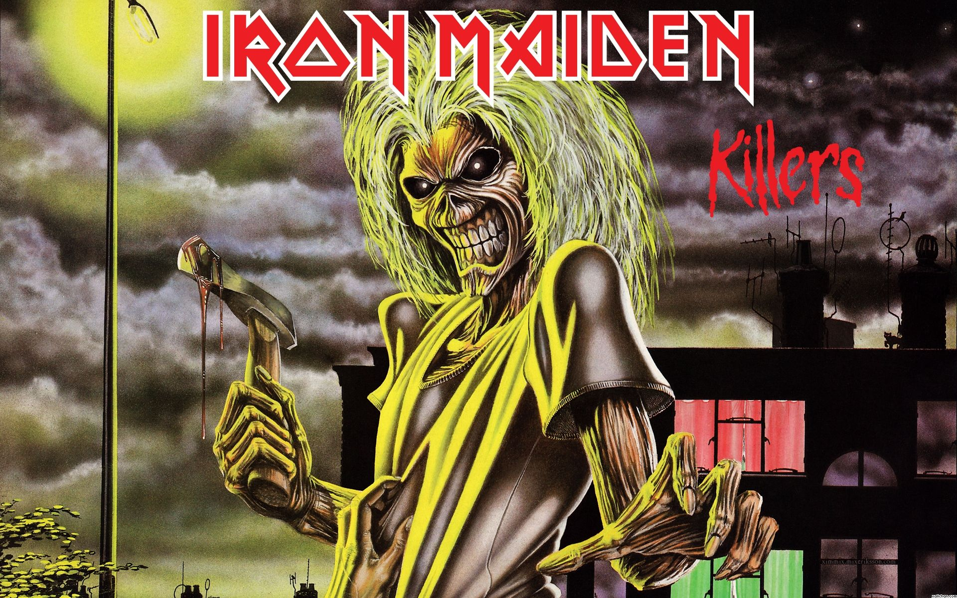 Iron Maiden Number Of The Beast Wallpaper Mobile Beast Wallpaper