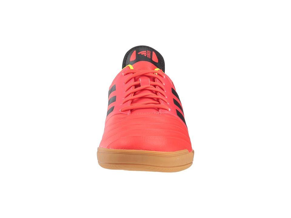 low priced ddae5 8d41a adidas Copa Tango 18.3 IN Mens Soccer Shoes Solar RedBlackSolar Yellow