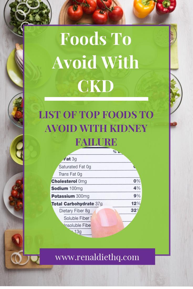 renal disease diet restrictions