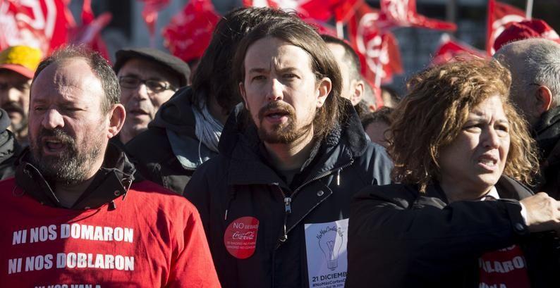 """Iglesias en la presentación de su proyecto para Vistalegre 2: """"No quiero que me votéis por mi cara sino por el proyecto colectivo """""""