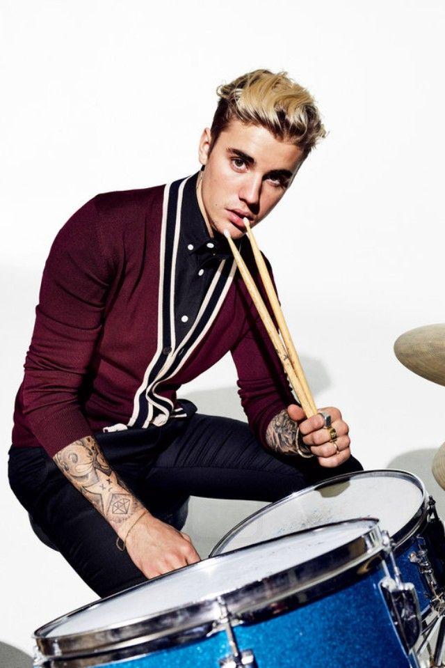 Justin Bieber For GQ Magazine March 2016 on Cartier wedding