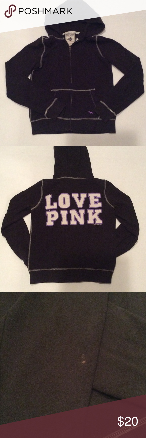 Victoria's Secret Pink Hoodie | Conditioning, Purple and Sweatshirt