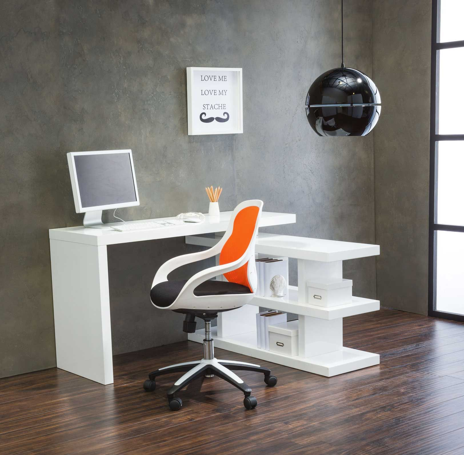Axis Swivel Desk   Smarten Up Your Act With A Multi Functional Workstation
