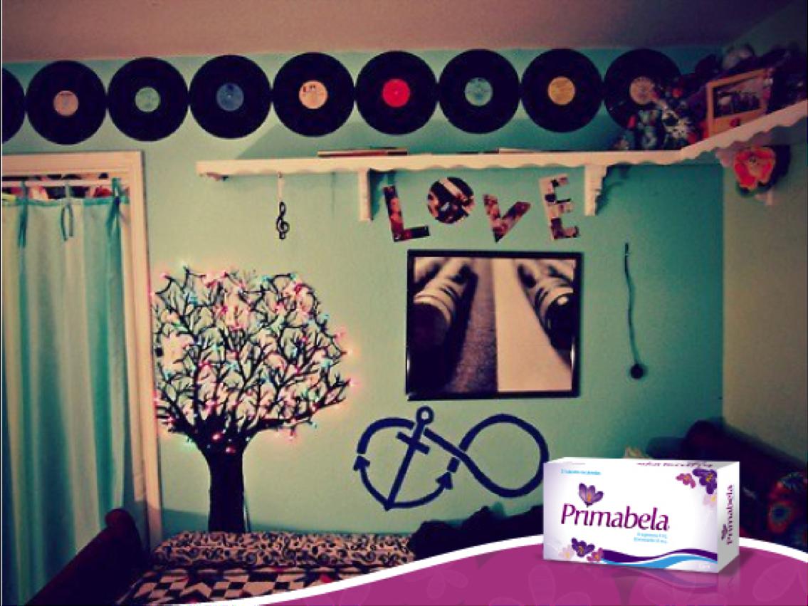 Para innovar tu cuarto love discos bedroomdecoration for Cuartos decorados para jovenes
