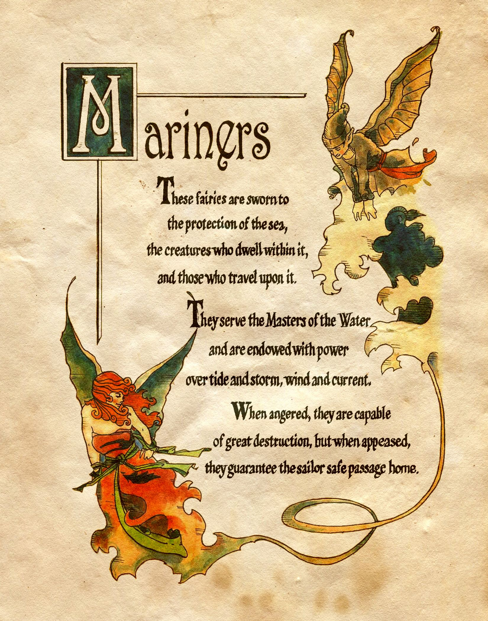 Mariners charmed book of shadows the power of