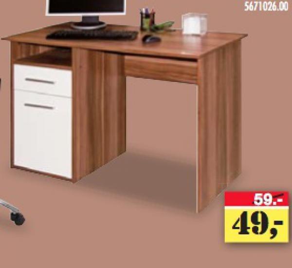Billig Schreibtisch Nussbaum Weiß Deutsche Desk Office Desk