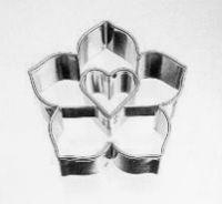 Cutter Formina Biscotto Lilie con Cuore