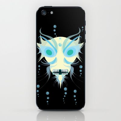 Creature from the Depths iPhone & iPod Skin by riomarcos - $15.00