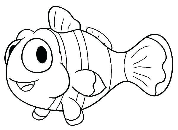 Baru 30 Gambar Kartun Mewarnai Ikan Berbagai Macam Gambar Ikan Air Laut Dan Air Tawar Download Contoh G Fish Coloring Page Cartoon Fish Clown Fish Cartoon