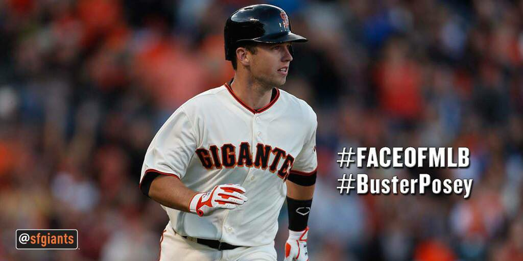 Face of MLB Buster Posey