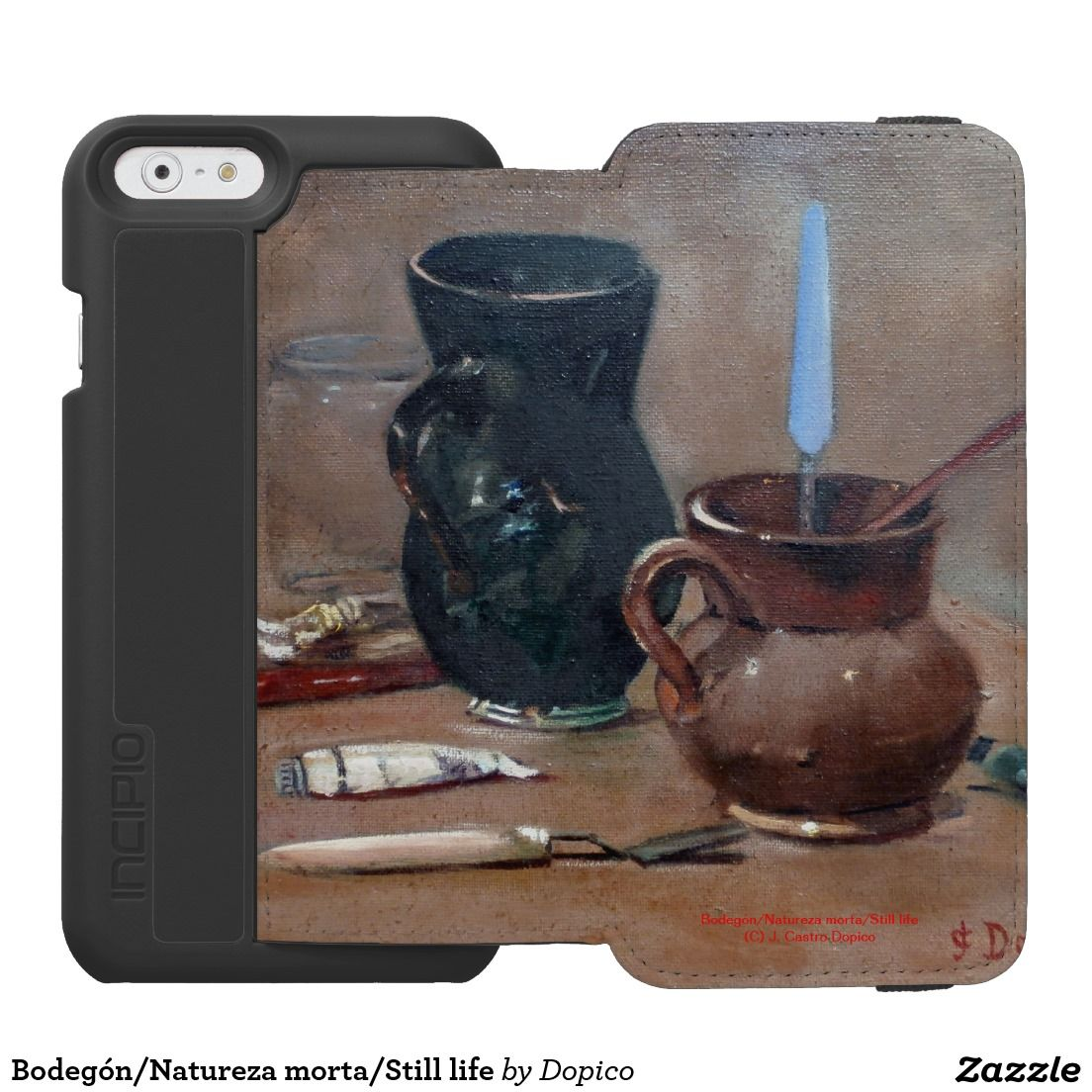 Bodegón/Natureza morta/Still life Funda Cartera Para iPhone 6 Watson