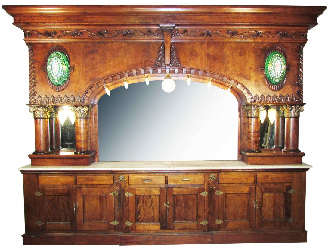 Saloon Back Bar