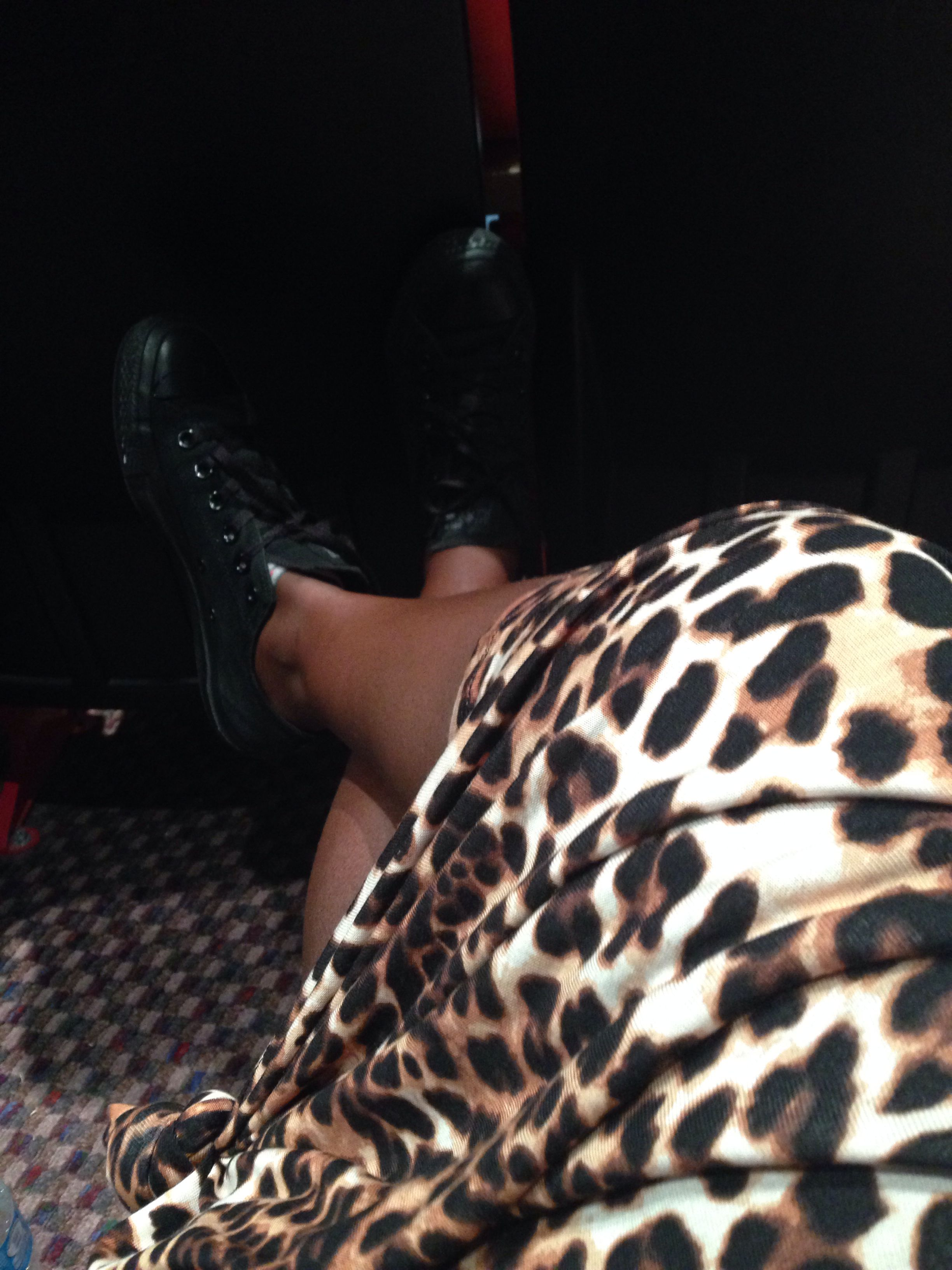 •Chucks&&&Cheetah• #ootd