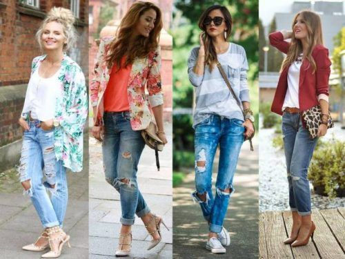 casual boyfriend jeans outfits, How to rock the boyfriend jeans  http//www.justtrendygirls.com/how,to,rock,the,boyfriend,jeans/