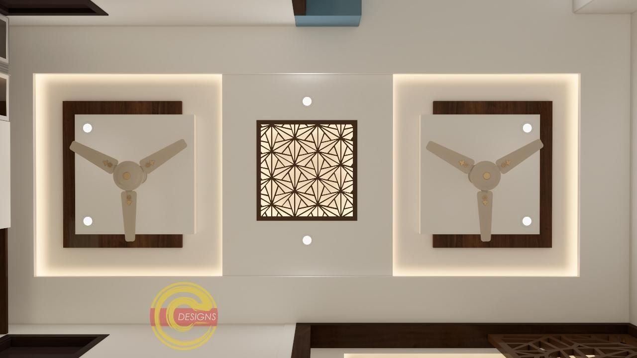 12 Rapturous Creative False Ceiling Inspiration Ideas With