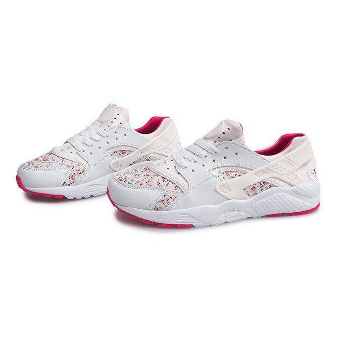 Sportowe Trampki W Kwiaty 613 Bialy Biale Sport Sneakers Sneakers Baby Shoes