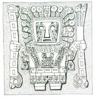 Wiracochadios De La Cultura Tiahuanaco Peru Y Bolivia